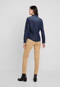Sisley - Overhemdblouse - black denim