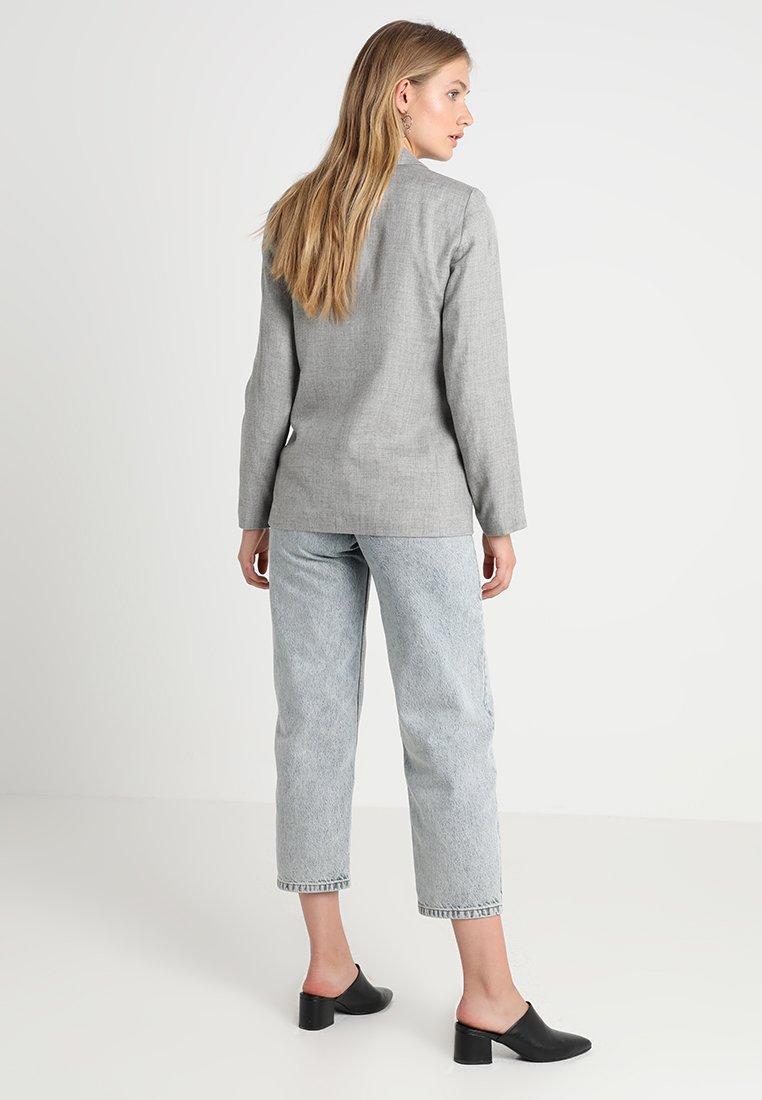 Sisley DOUBLE BREASTED SOFT FEEL - Blazer grey