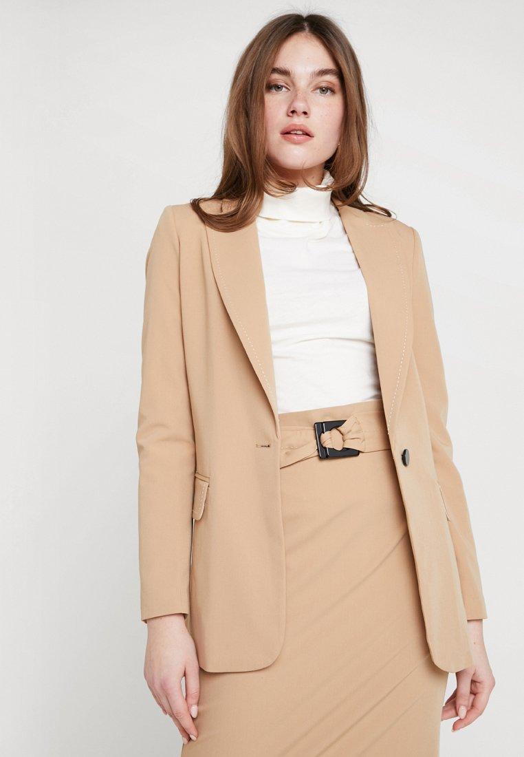 Sisley - WITH BELT - Blazer - beige
