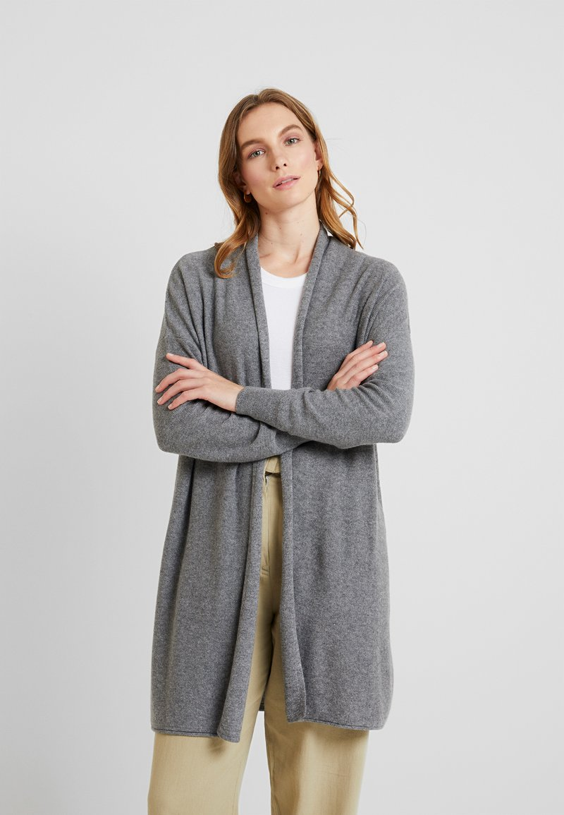 Sisley - CARDIGAN - Cardigan - light grey