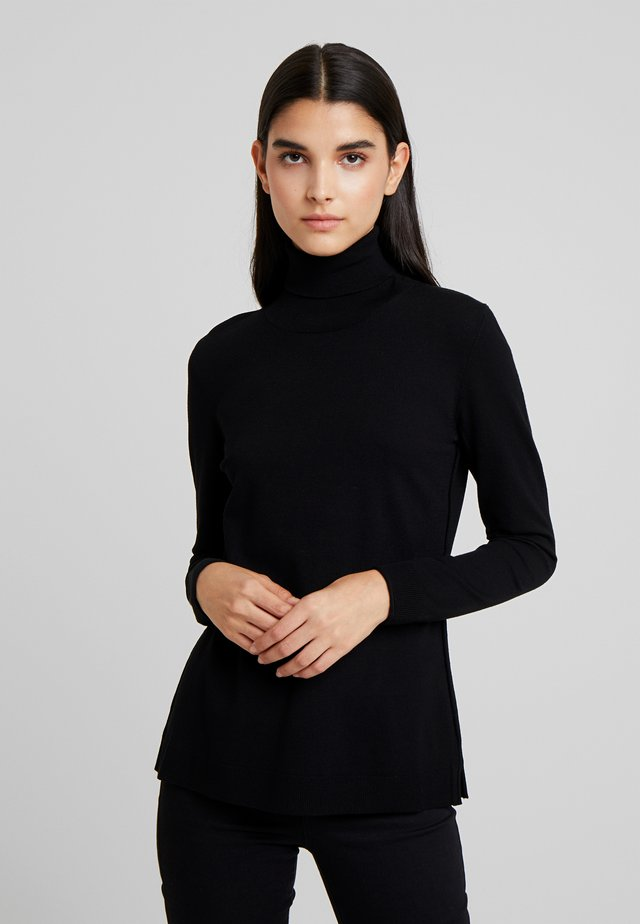 TURTLE NECK - Neule - blak
