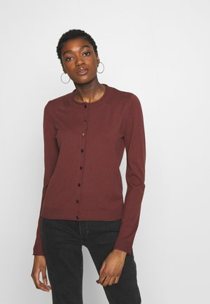 SWEATER - Cardigan - ordeaux