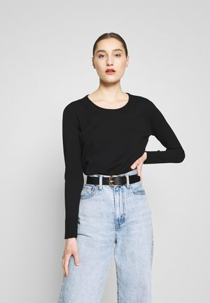 SWEATER - Strikkegenser - black