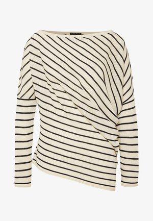 SWEATER - Maglione - white/black
