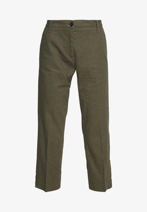 TROUSERS - Spodnie materiałowe - khaki