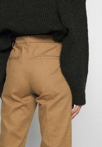 Sisley - TROUSERS - Pantaloni - brown - 6
