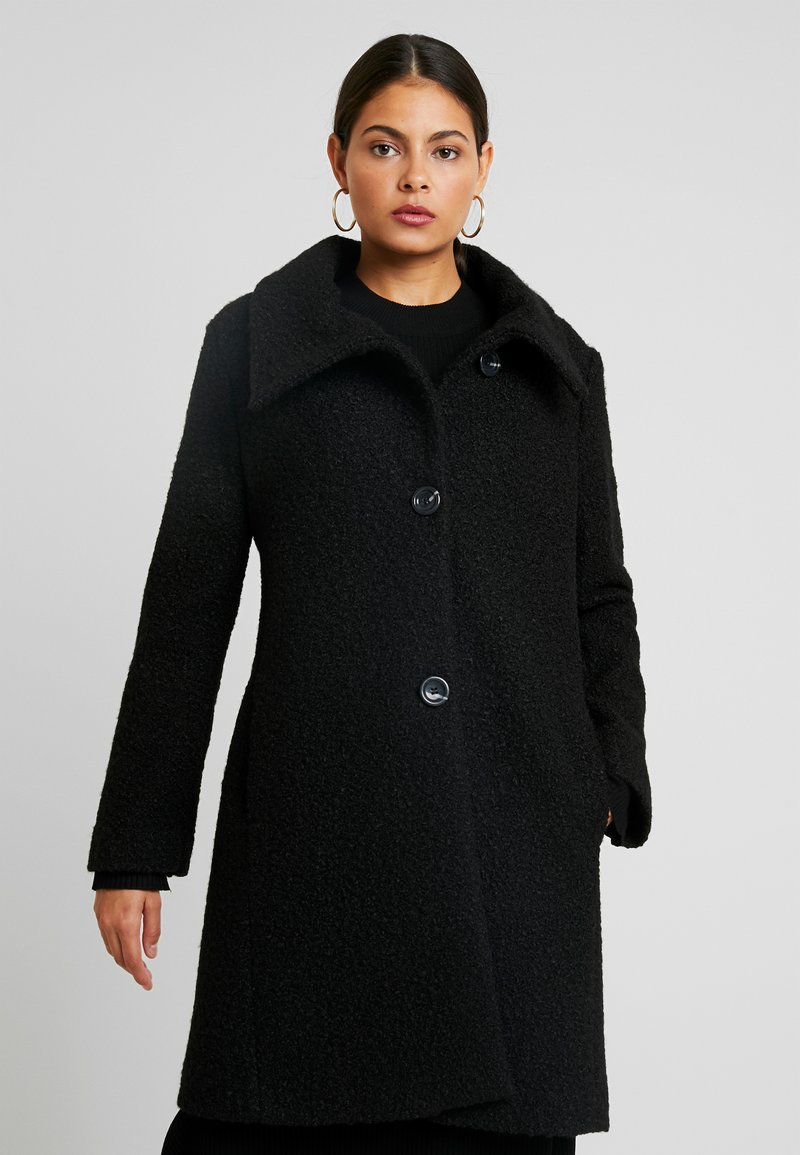 Sisley - COAT - Classic coat - black