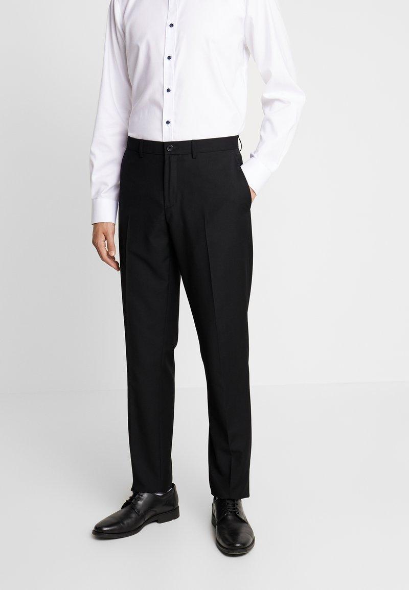 Sisley - Jakkesæt bukser - black