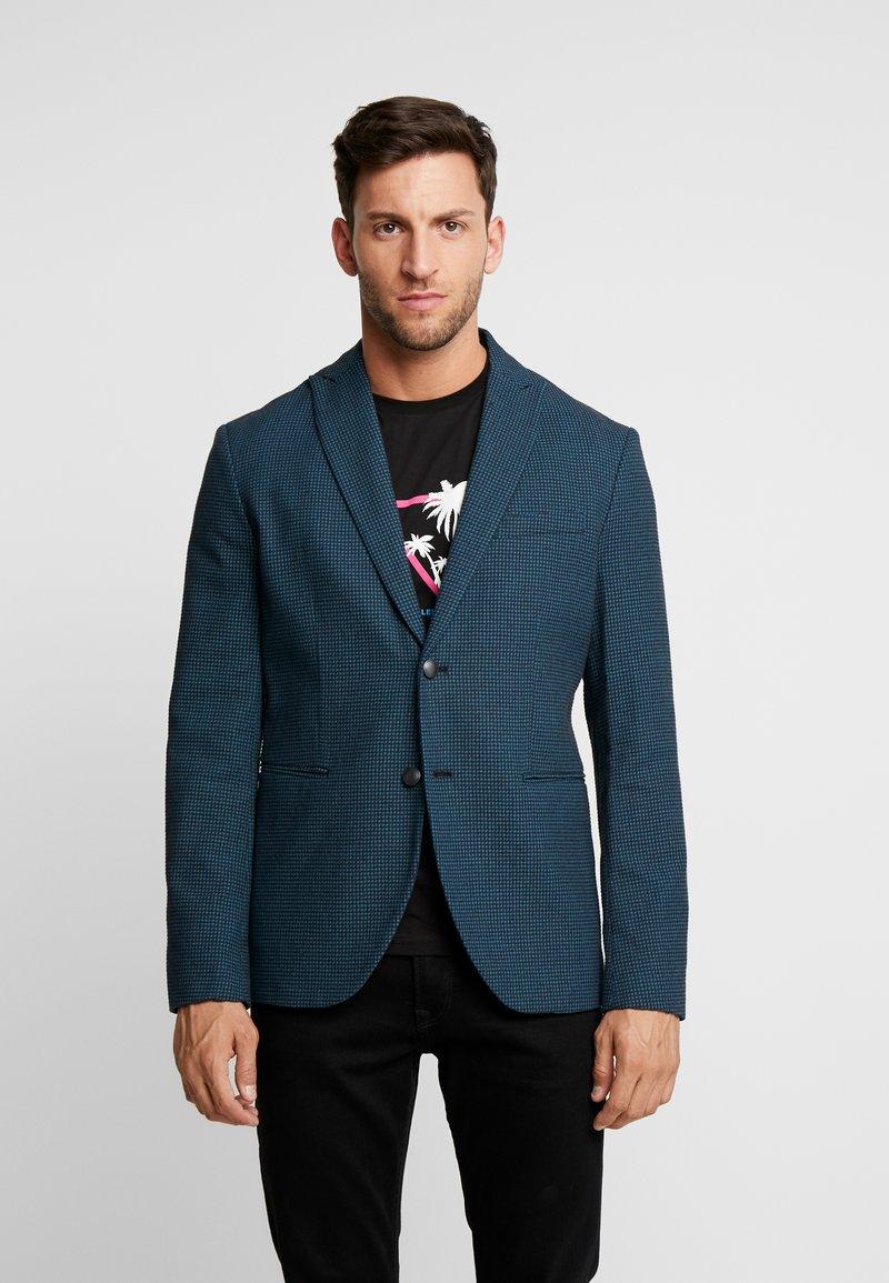 Sisley - Blazer jacket - mottled anthracite