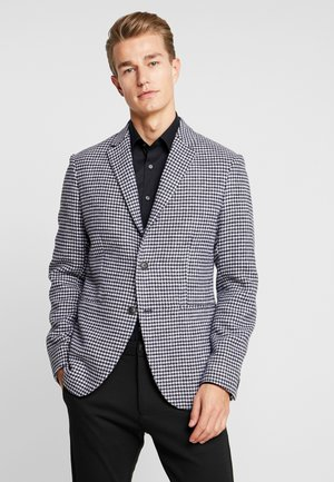 Blazer jacket - black/white