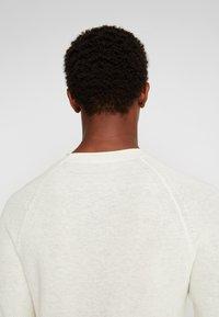Sisley - Stickad tröja - off-white - 4