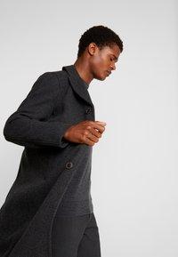 Sisley - Cappotto classico - mottled dark grey - 3