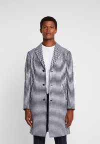 Sisley - Zimní kabát - black/white - 0