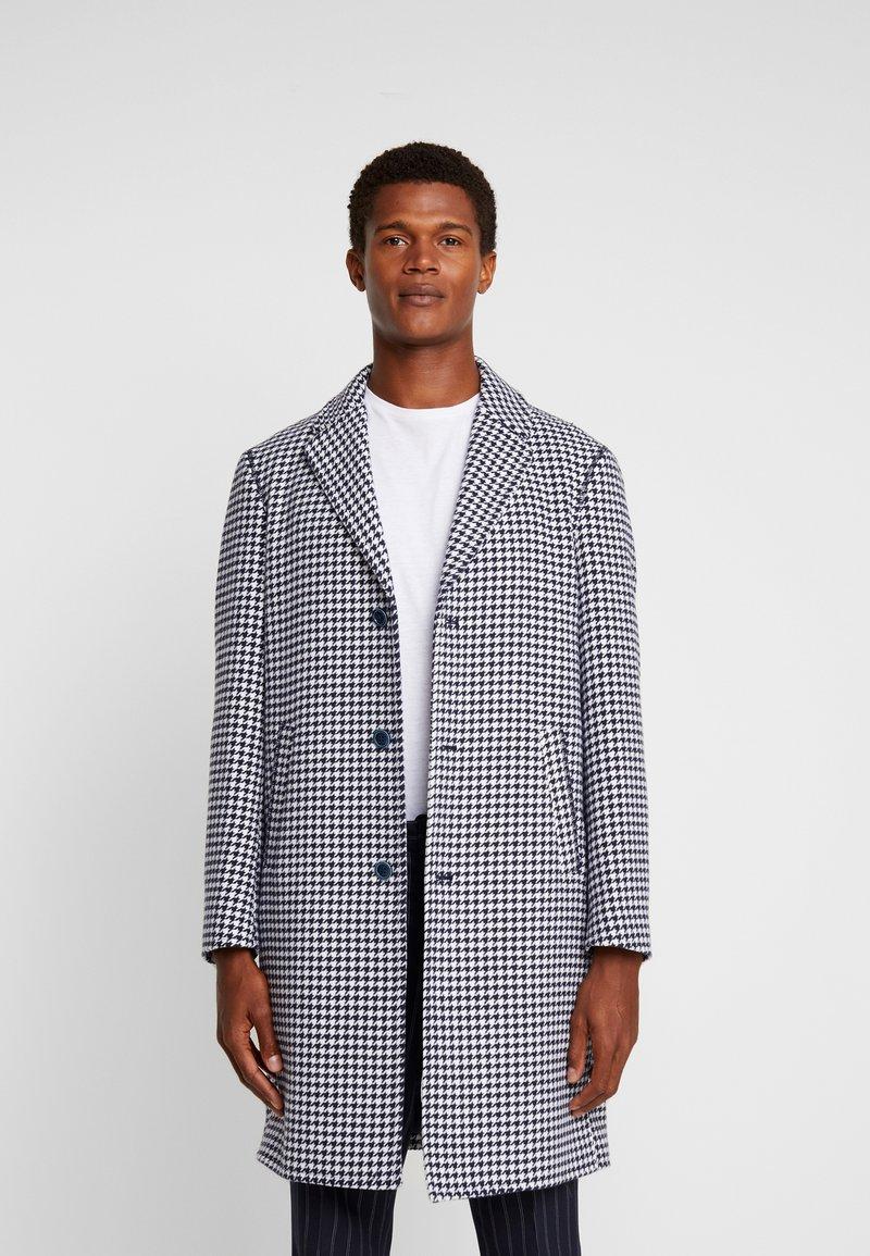 Sisley - Zimní kabát - black/white