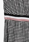 Sisley - DRESS - Day dress - black/white