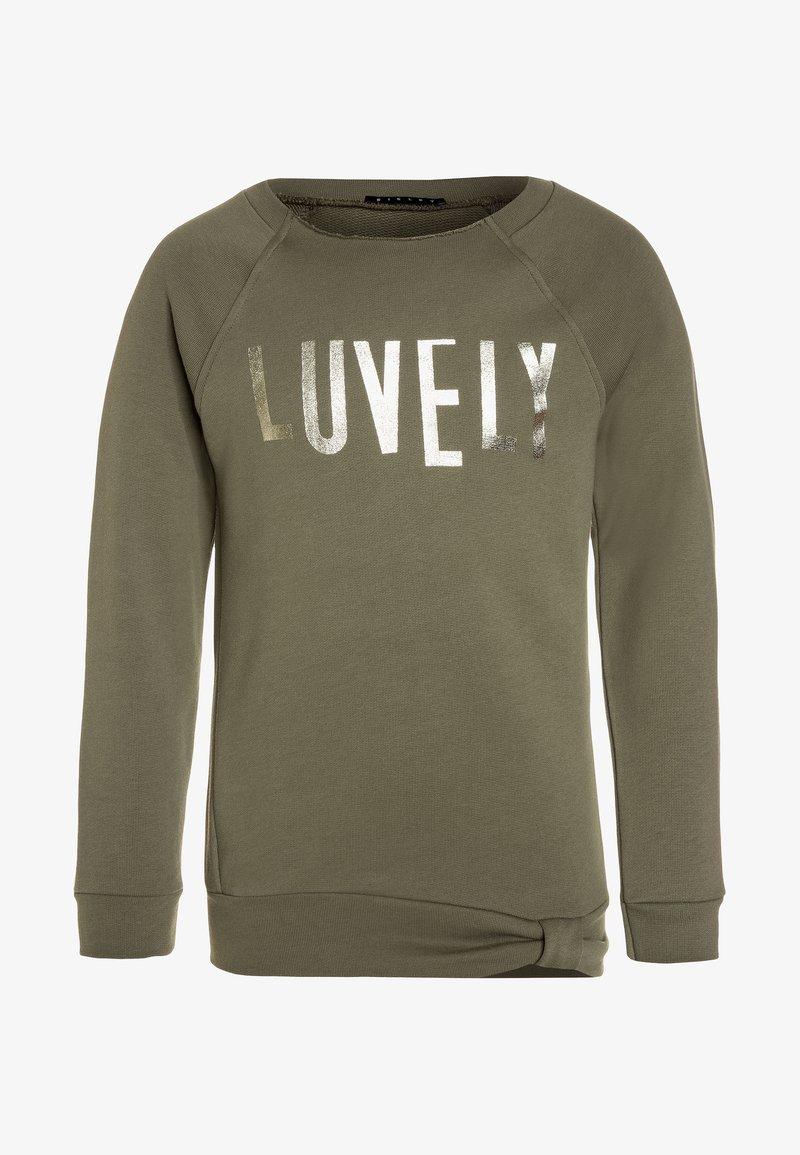 Sisley - Sweatshirt - khaki