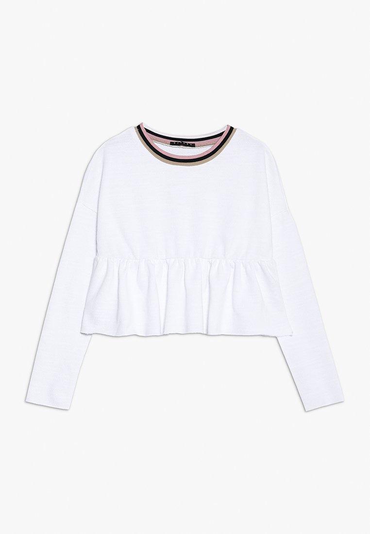 Sisley - Sweatshirt - white