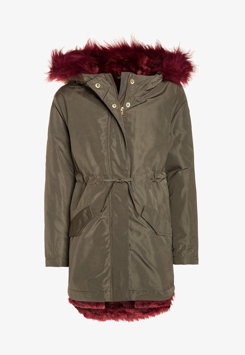 Sisley - HEAVY - Winter coat - khaki