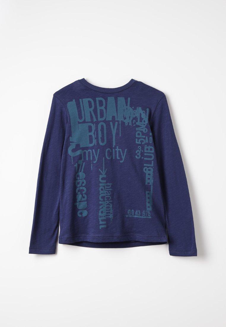 Sisley - T-shirt à manches longues - dark blue