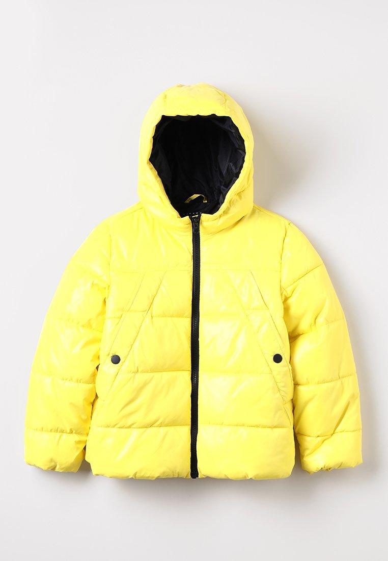 Sisley - JACKET - Winter jacket - yellow