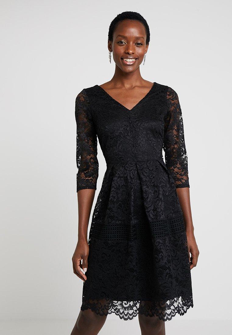 Wallis - CROCHET INSERT - Cocktail dress / Party dress - black