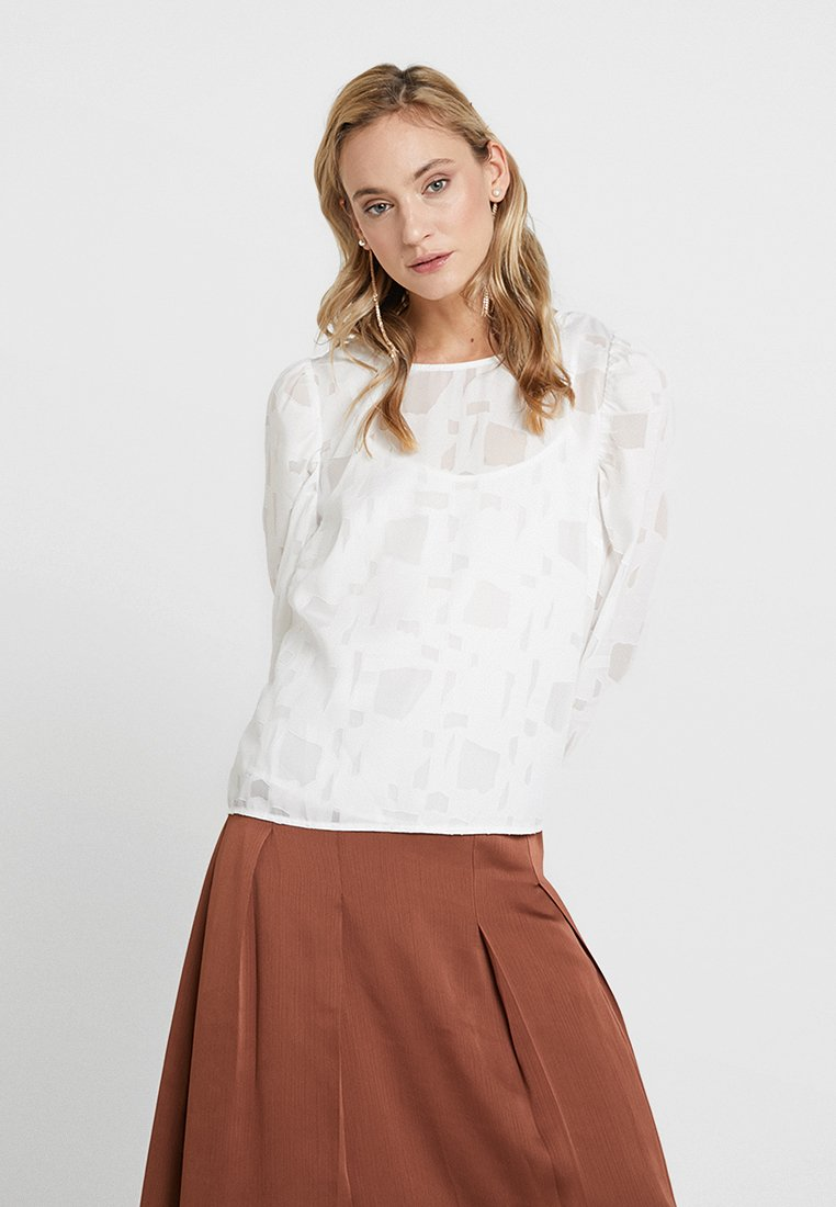 Love Copenhagen - PAPALINA FORMAL BLOUSE - Bluse - optical white