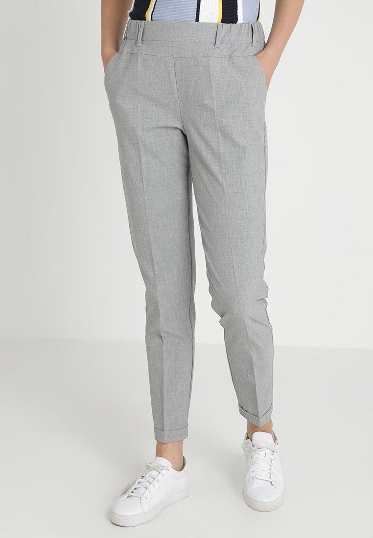 Kaffe - NANCI JILLIAN PANT - Pantaloni - light grey melange