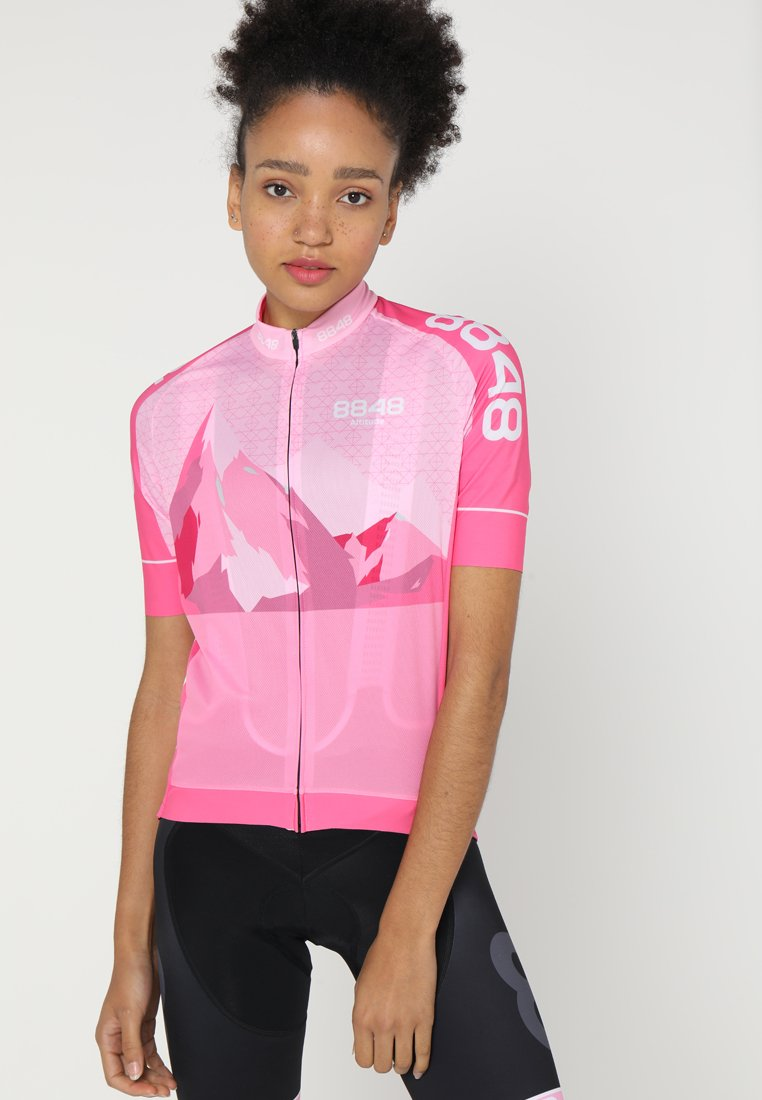 8848 Altitude - NAIRO BIKE  - T-Shirt print - pink