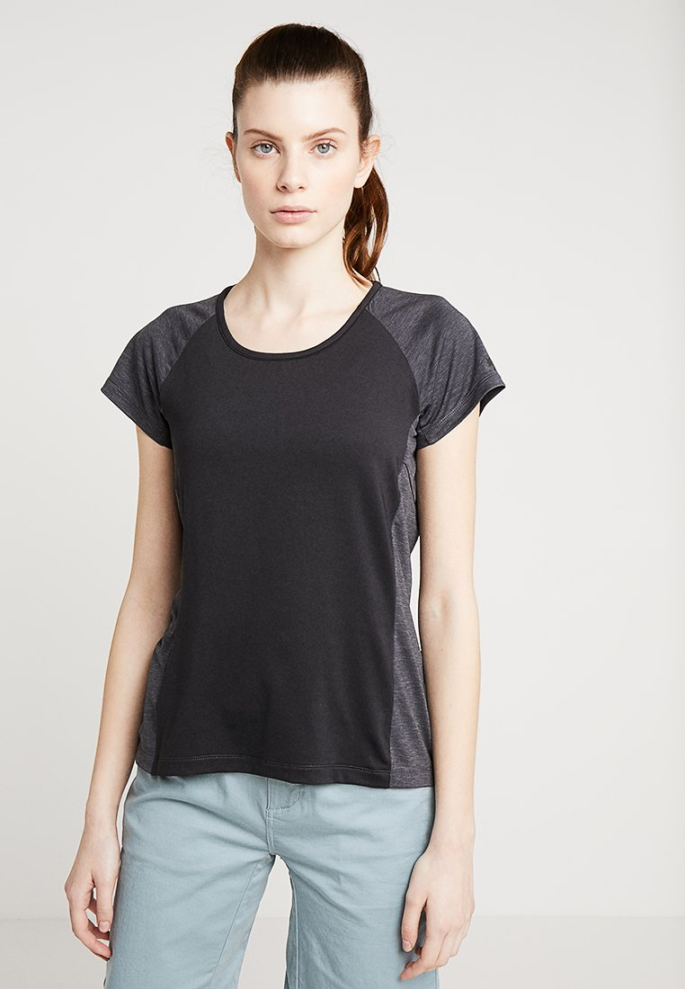 8848 Altitude - LINDY TEE - T-shirt z nadrukiem - black