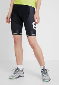 8848 Altitude - COCA BIKE SHORTS - Tights - black - 0
