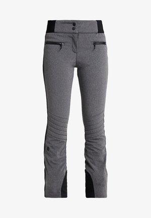 RANDY SLIM PANT - Pantaloni da neve - dark grey melange