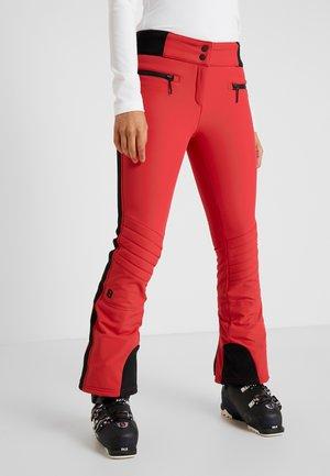 RANDY SLIM PANT - Ski- & snowboardbukser - red