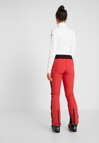 8848 Altitude - RANDY SLIM PANT - Täckbyxor - red - 2