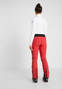 8848 Altitude - RANDY SLIM PANT - Snow pants - red - 2