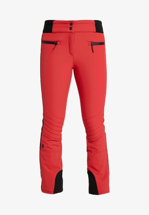 RANDY SLIM PANT - Schneehose - red