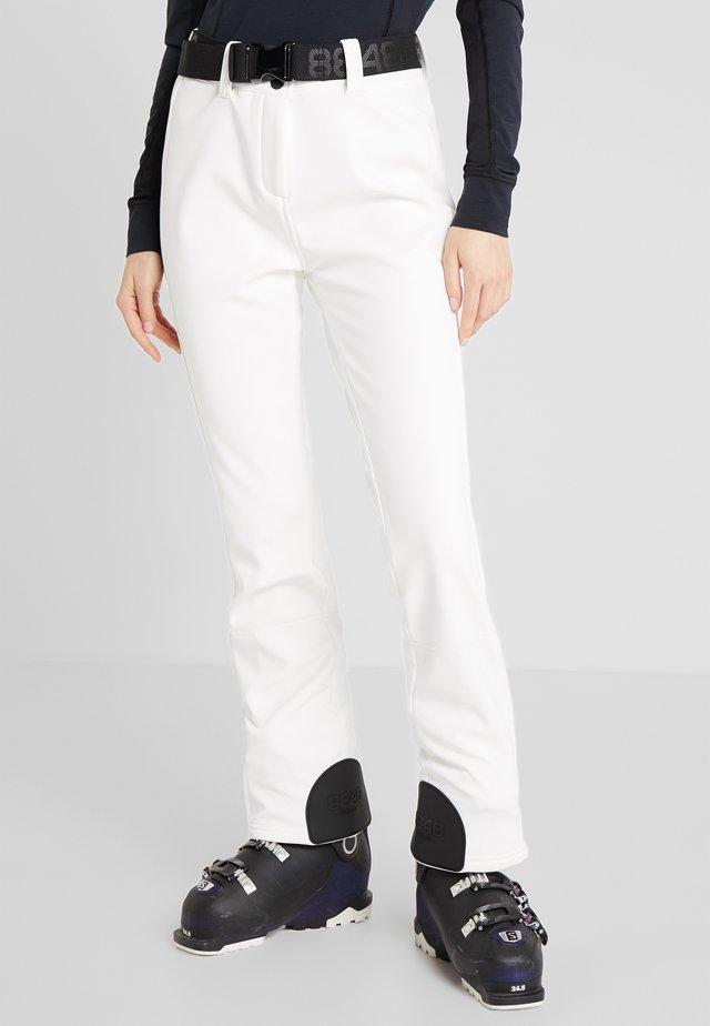 SLIM PANT - Zimní kalhoty - blanc