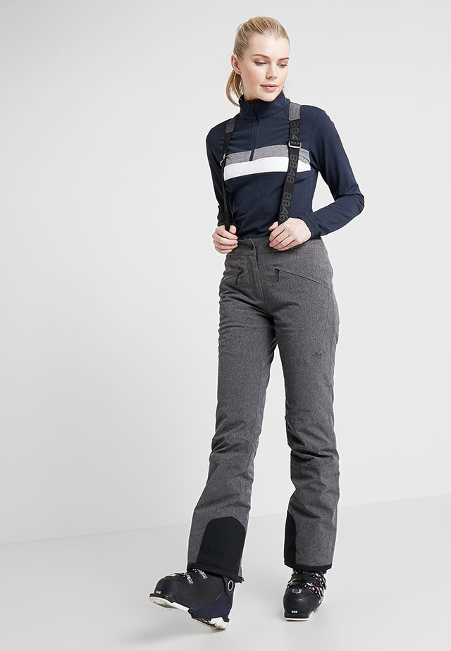 POPPY PANT - Pantalon de ski - dark grey melange