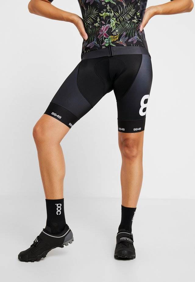 COCA BIKE SHORTS - Legging - black