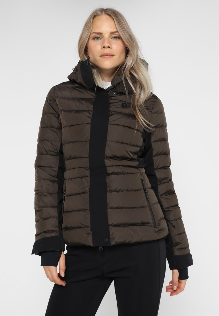 8848 Altitude - ANDINA JACKET - Skijacke - coffee