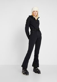 8848 Altitude - CAT SKI SUIT - Täckbyxor - black - 1