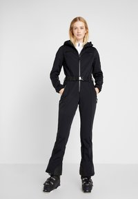 8848 Altitude - CAT SKI SUIT - Täckbyxor - black - 0