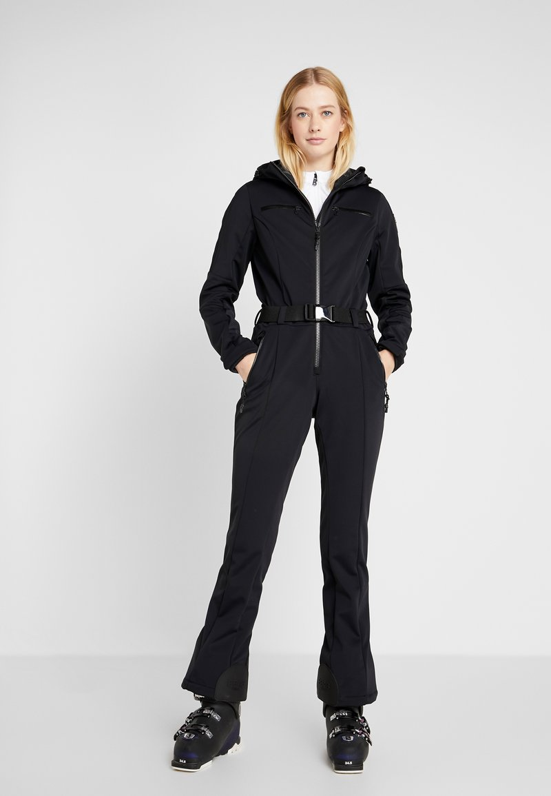 8848 Altitude - CAT SKI SUIT - Täckbyxor - black