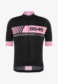 8848 Altitude - PAN LOOP BIKE  - T-Shirt print - black/pink - 5