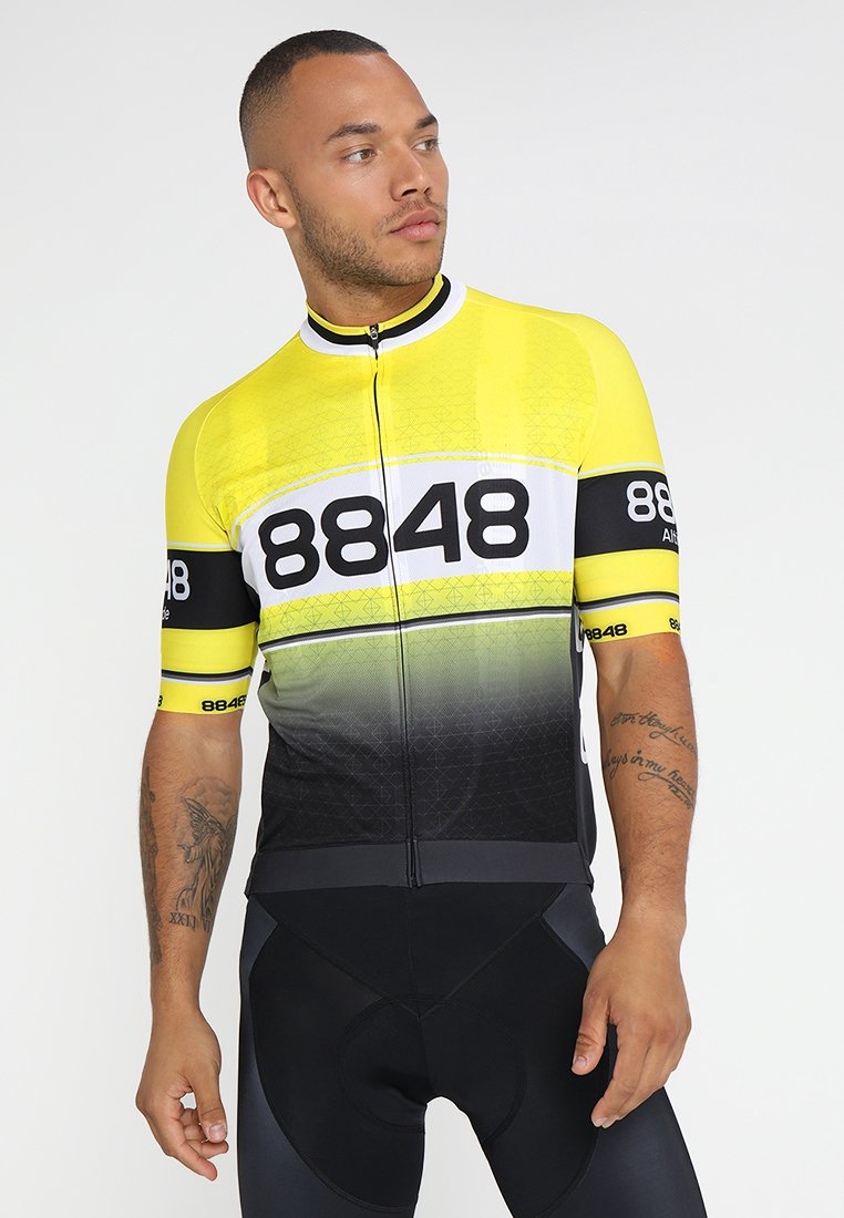 8848 Altitude - GURTEN BIKE  - Print T-shirt - yellow