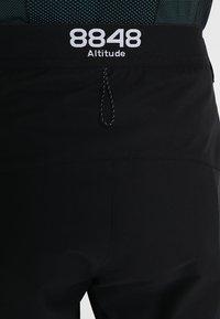 8848 Altitude - TERO SHORTS - kurze Sporthose - black - 3