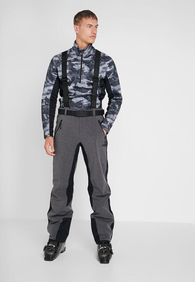 ROTHORN PANT - Ski- & snowboardbukser - dark grey melange