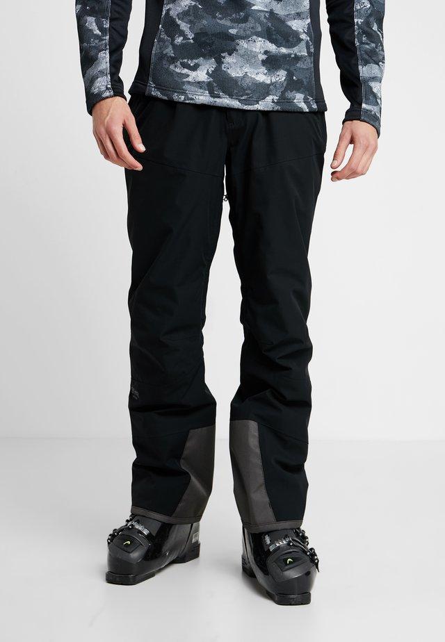 WANDECK PANT - Skibroek - black
