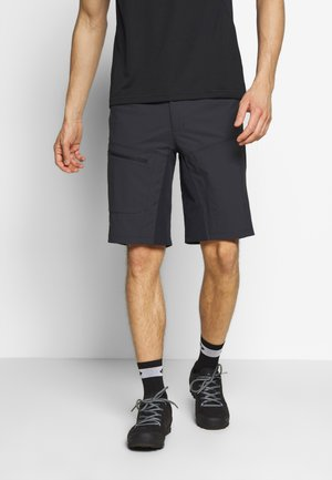 MONTAFON - Sports shorts - charcoal