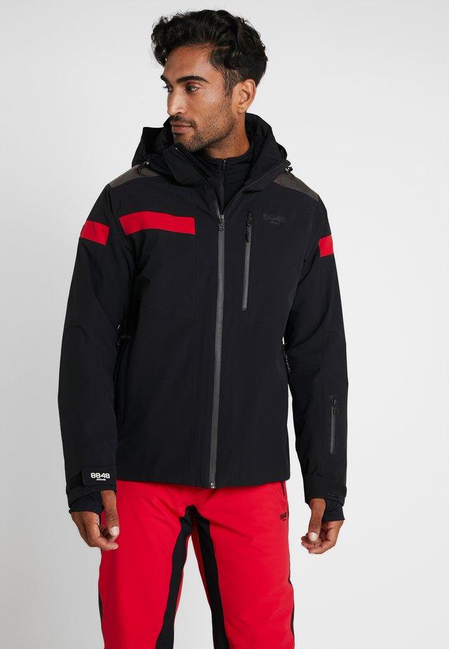ASTON JACKET - Ski jas - black