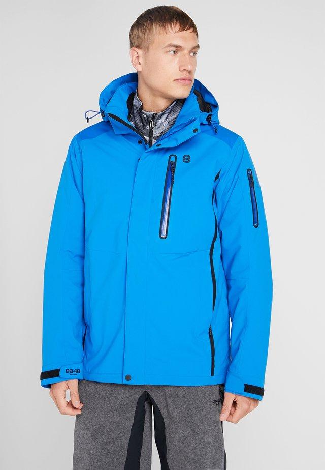 CASTOR JACKET - Lyžařská bunda - blue